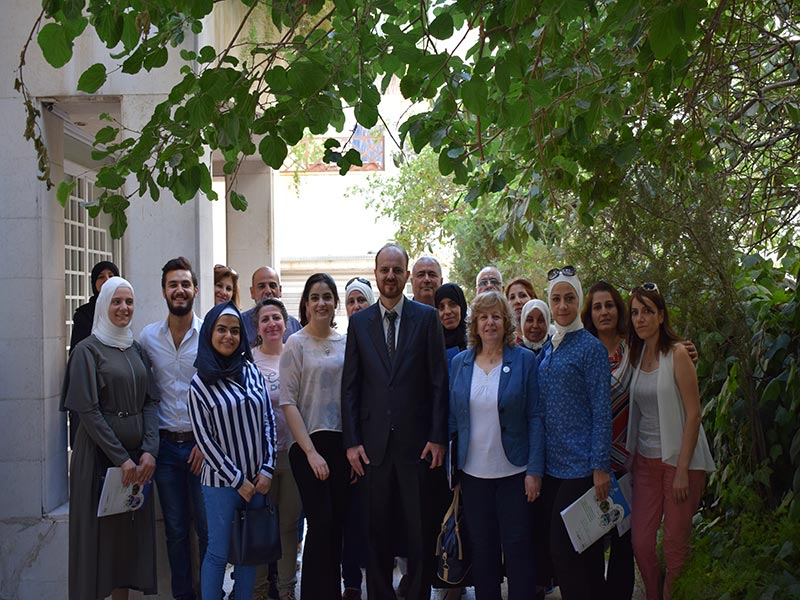 Conclusion of the comprehensive sexual education course for teachers in Damascus