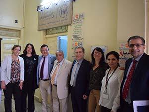 Dudaryan Visit to Halbouni Clinic