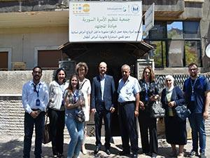 Visit of the Norwegian Embassy delegation to Bab Musalla clinic in Damascus